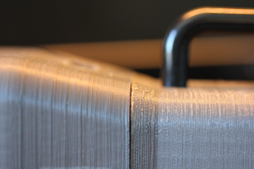 Closeup of seam